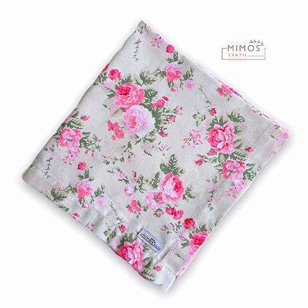Guardanapo de Mesa - Floral - Mimos Têxtil