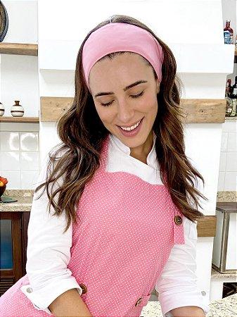 Faixa de Cabelo - Rosa Chiclets - Uniblu