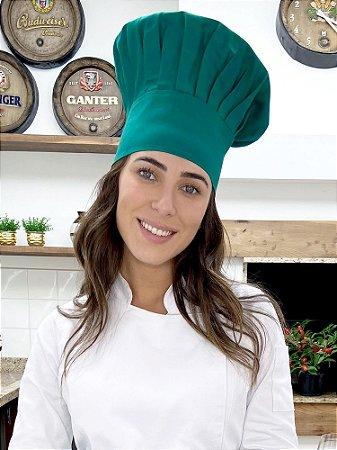 Touca Chefe -Verde - uniblu