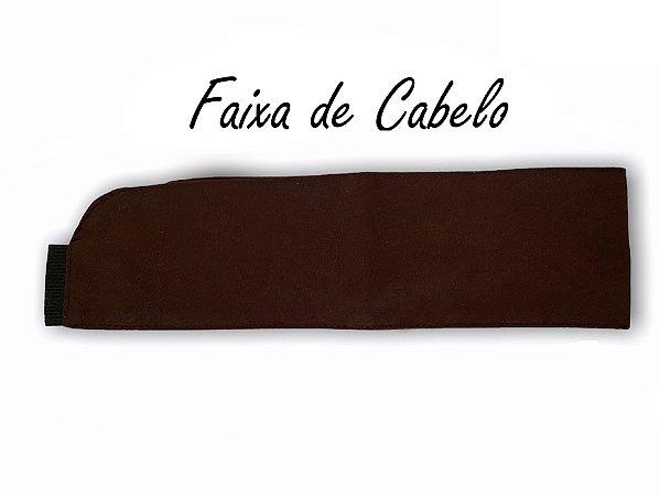 Faixa de Cabelo - Marrom Café- Uniblu