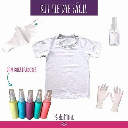 Kit Tie Dye FÁCIL | 1 peça (com spray!)