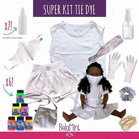 Kit Tie Dye COMPLETO | 2 peças (LUXO)