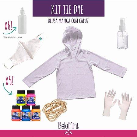Kit Tie Dye | 1 Blusa Manga (promoção!)