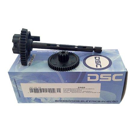 Engrenagem Corpo Borboleta Tbi Dsc Fiat Uno Palio 1.0 E 1.4 Flex Motor Evo