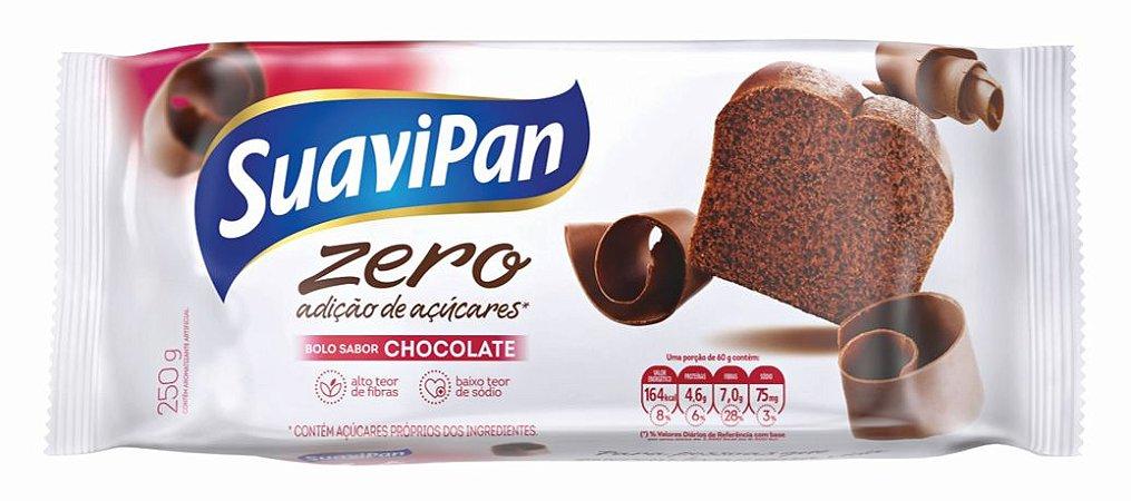 Bolo Zero Açúcar de Chocolate SuaviPan 250g