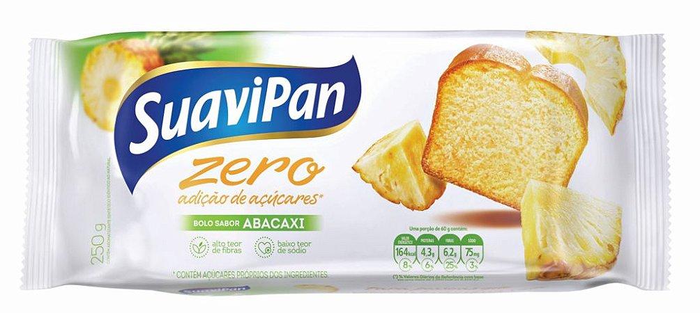 Bolo Zero Açúcar de Abacaxi SuaviPan 250g