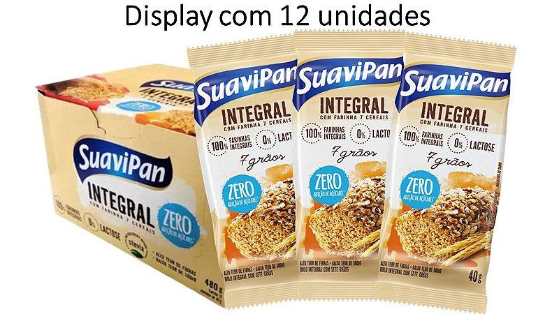 Bolinho 7 Grãos Integral SuaviPan Display c/ 12 Unid