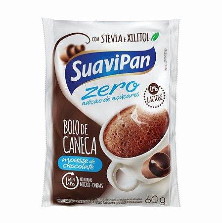 Bolo de Caneca Zero Açúcar Chocolate Zero Display c/ 24 Unid