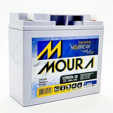 BATERIA MOURA PARA NOBREAK 12V 18A - 12MVA-18