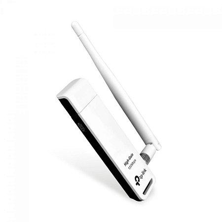 ADAPTADOR USB WIRELESS N TL-WN722N - PRONTA ENTREGA