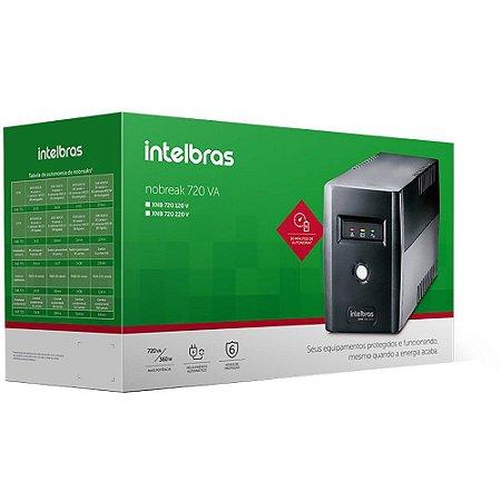 Nobreak Interactive Intelbras XNB 720VA Mono 110V
