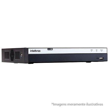MHDX 3004 - DVR DE 4 CANAIS - S/ HD - INTELBRAS