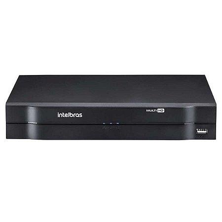 MHDX 1008 - DVR DE 8 CANAIS - S/ HD - INTELBRAS