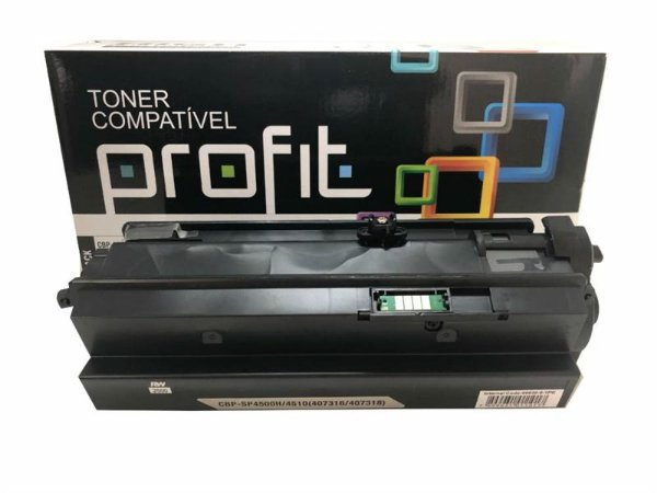 TONER CARTRIDGE COMPATÍVEL TN-650 TN-580 P/ BROTHER 8060 8065 8070 8085 PRETO PROFIT