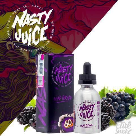 Líquido Asap Grape - Nasty Juice