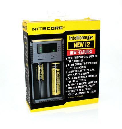 Carregador Baterias Nitecore Intellicharger NEW i2