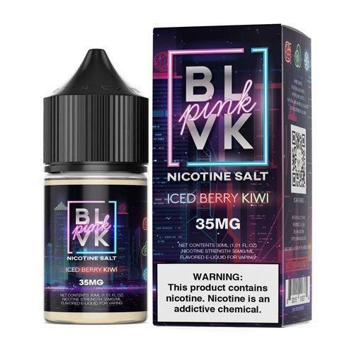 LIQUIDO BLVK PINK NIC SALT - ICED BERRY KIWI