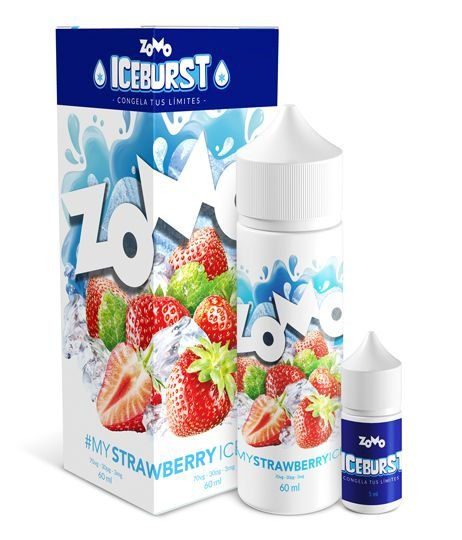 LIQUIDO ZOMO MY  STRAWBERRY ICE - ICE BURST