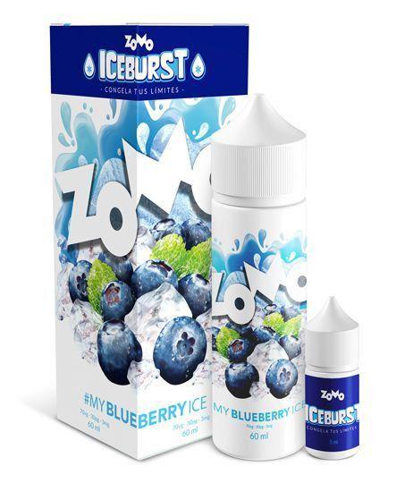 LÍQUIDO ZOMO - MY BLUEBERRY ICE - ICE BURST