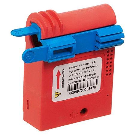 Protetor DPS CLAMPER Connect 275V 15kA (Perfurante)