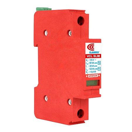 Protetor DPS CLAMPER VCL 275V 12,5/60kA (Trilho)