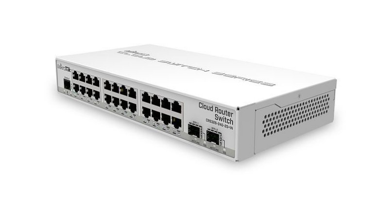 MIKROTIK - SWITCH CRS326-24G-2S+IN 800Mhz 512Mb L5