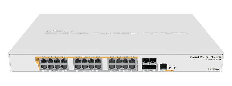 MIKROTIK - SWITCH CRS328-24P-4S+RM 800Mhz 512Mb L5