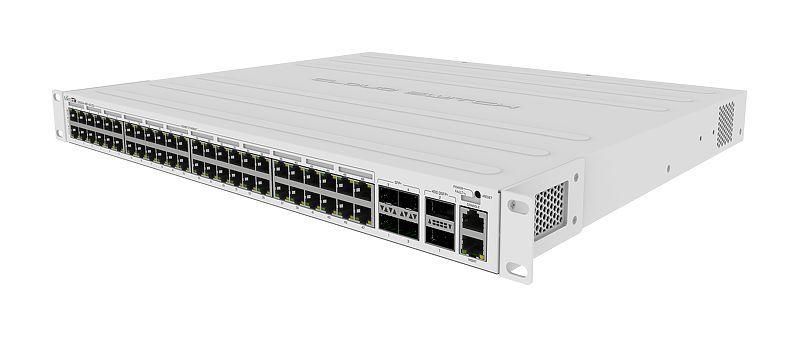 MIKROTIK - SWITCH CRS354-48P-4S+2Q+RM 650Mhz 64Mb L5