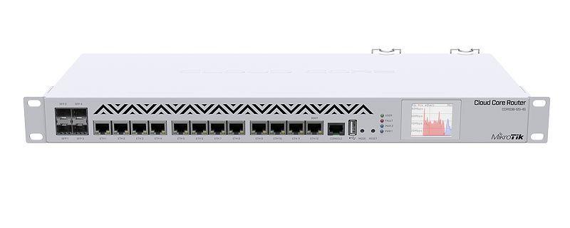 ROTEADOR CORE CLOUD ROUTER CCR1036-12G-4S-EM - MIKROTIK