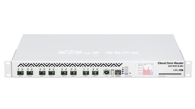 ROTEADOR CORE CLOUD ROUTER CCR1072-1G-8S+ - MIKROTIK