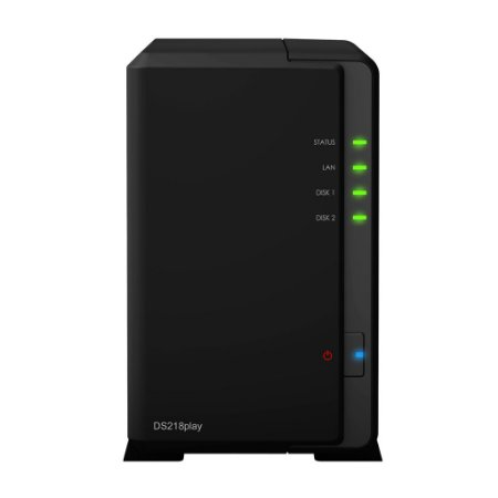 Servidor NAS Synology DiskStation DS218play 2 Baias - DS218play