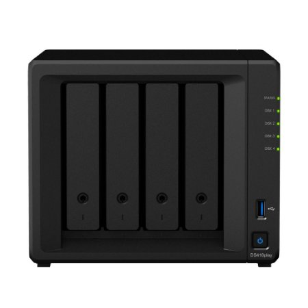 Servidor NAS Synology DiskStation DS418play 4 Baias - DS418play