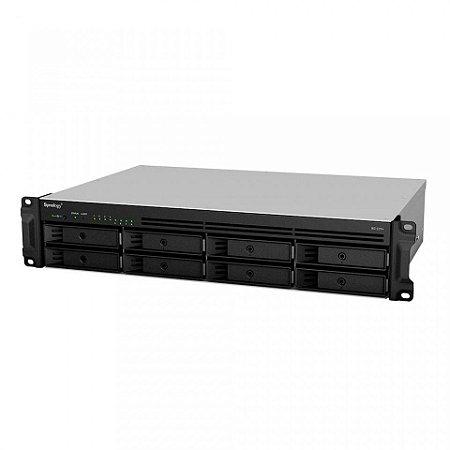 Servidor NAS Synology RackStation RS1219+ 8 Baias (expansível a 12 baias)