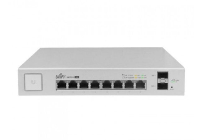 UNIFI GIGABIT SWITCH SFP US-8-150W DE 8 PORTAS - UBIQUITI