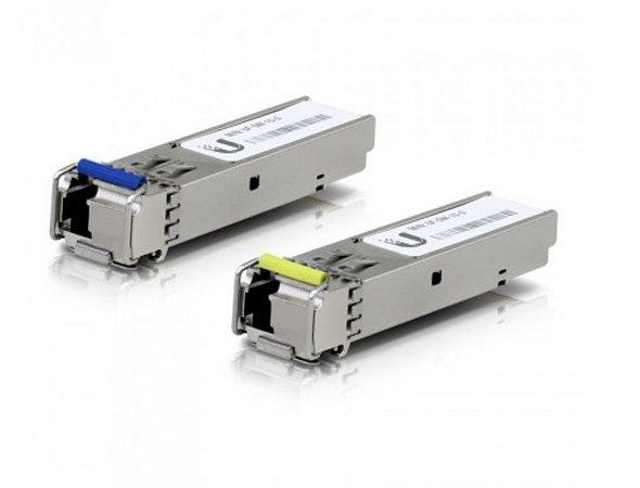GBIC SFP+ MONOMODO 1.25G 3KM UFIBER UF-SM-1G-S BIDI 1310NM-1550NM - UBIQUITI