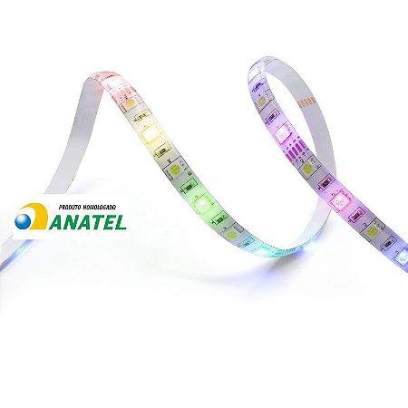 HI GEONAV FITA DE LED RGB+W QUENTE/FRIO INTELIGENTE COM 3M BIVOLT