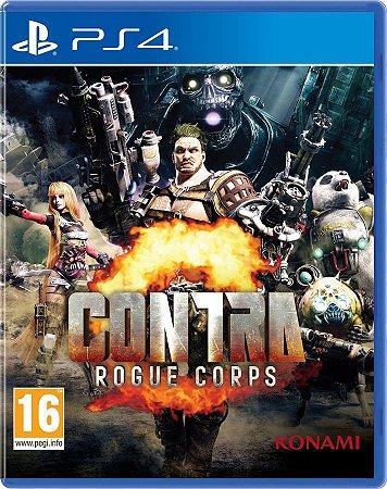 CONTRA: ROGUE CORPS PS4 E PS5 PSN MÍDIA DIGITAL