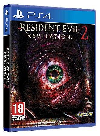RESIDENT EVIL REVELATIONS 2 EDIÇÃO DE LUXO - PS4 & PS5 - PSN MÍDIA DIGITAL