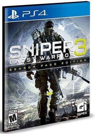 SNIPER GHOST WARRIOR 3 SEASON PASS EDITION PS4 PSN MÍDIA DIGITAL