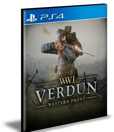 VERDUN PS4 E PS5 PSN MÍDIA DIGITAL