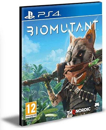 BIOMUTANT PS4 E PS5 PSN MÍDIA DIGITAL