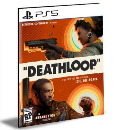 DEATHLOOP PS5 PSN MÍDIA DIGITAL