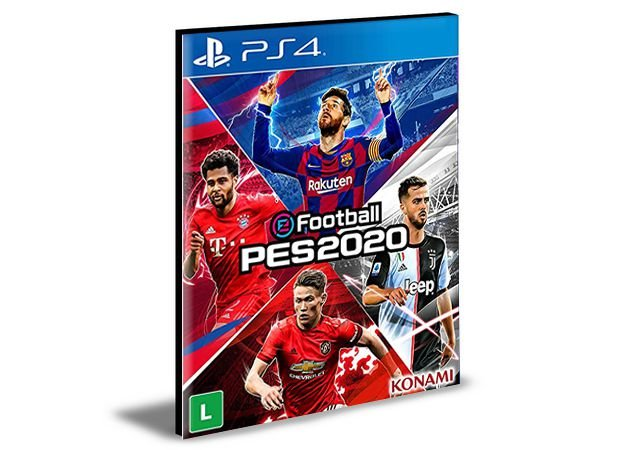 eFootball PES 2020 - PS4 PSN Mídia Digital