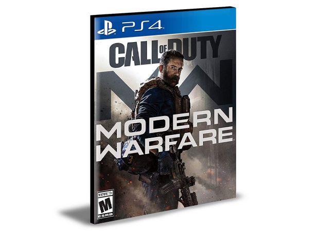 Call Of Duty Modern Warfare - PS4 PSN Mídia Digital
