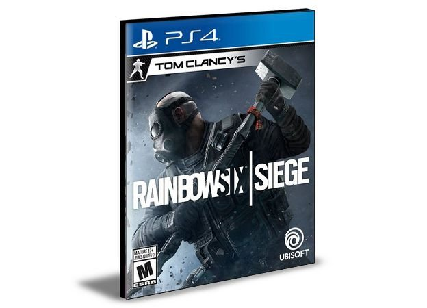 Tom Clancys Rainbow Six Siege - PS4 PSN Mídia Digital