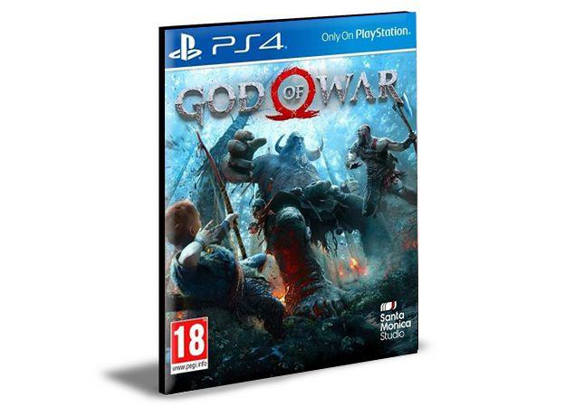 God of war Ps4 - Psn - Mídia Digital
