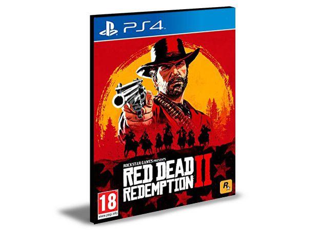 RED DEAD REDEMPTION 2 PS4 PSN Mídia Digital