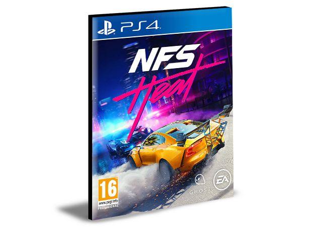NEED FOR SPEED HEAT STANDARD EDITION - PS4 PSN MÍDIA DIGITAL