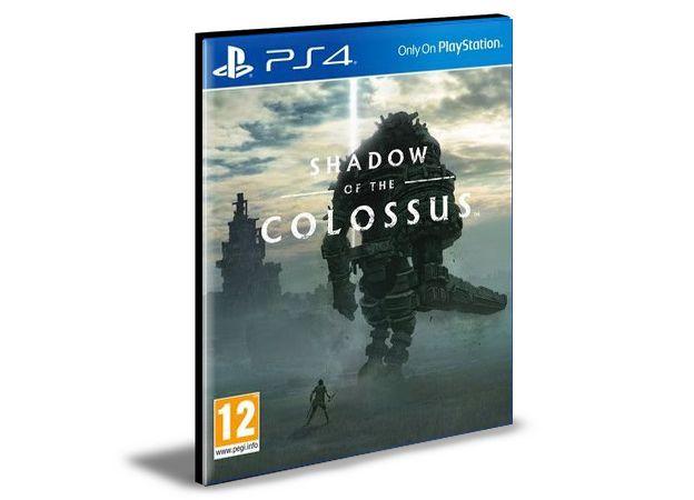 SHADOW OF THE COLOSSUS - PS4 PSN MÍDIA DIGITAL