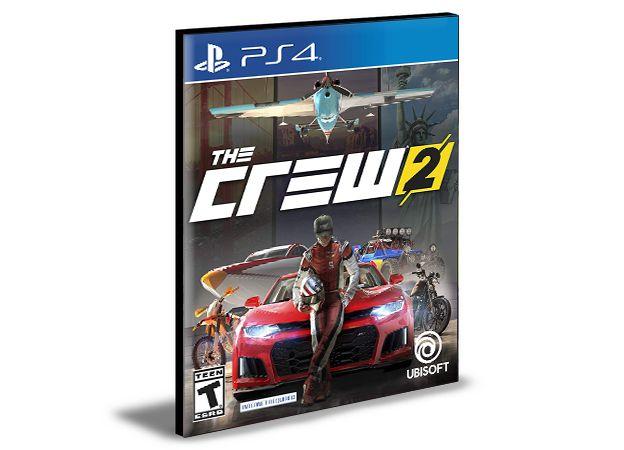 The Crew 2 PS4 PSN Mídia Digital